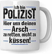 Pagma Druck Polizist Tasse, Polizei Geschenk,