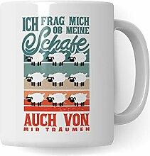 Pagma Druck Schaf Tasse - Geschenk Becher für