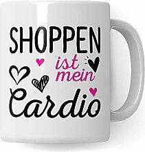 Pagma Druck Shopping Tasse, Shopping Queen