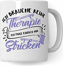 Pagma Druck Stricken Tasse, Strickerin Geschenk