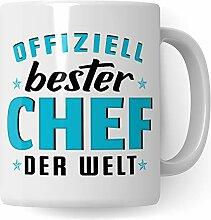 Pagma Druck Tasse Chef, Geschenke für Chef, Boss