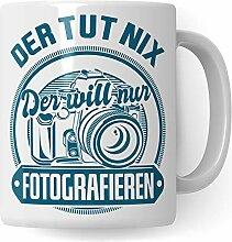 Pagma Druck Tasse Fotograf, Geschenk für