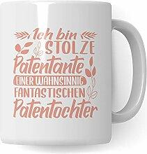 Pagma Druck Tasse Patentante, Taufgeschenke für