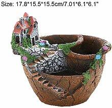 pah-macy Elegant Keramik Gartendeko Kreativer