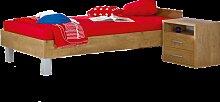 Paidi Henrik Liege in Eiche-Antik-Nachbildung optional mit Nachtkommode für Kinder- und Jugendzimmer