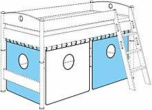 PAIDI Vorhang-Set mit Aussparungen