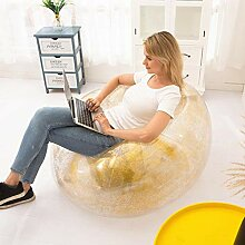 Pailletten-aufblasbarer Stuhl - Beanless Bag