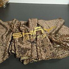 Pailletten-Hintergrund Kupfer-5x6FT-Photo Booth Dekoration