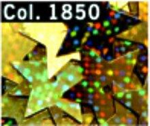 Pailletten Sterne 15 mm Mittelloch 4 g Röhrchen