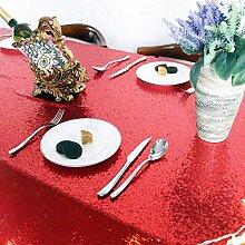 Pailletten Tischdecken Bestickte Sparkle