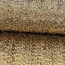 Paillettenstoff gold Modestoffe Abendmode