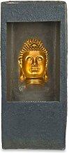 Pajoma 15662 Brunnen Buddha Gold mit LED