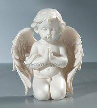 Pajoma 49161 Engelfigur betend, klein, Kunstharz,