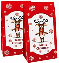 pajoma Adventskalender Rudolph, 1 x 24 Tüten