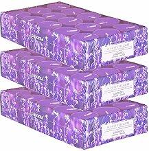 pajoma Duftteelicht Lavendel, 90 Stück (3 x 30er