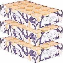 pajoma Duftteelicht Vanille, 90 Stück (3 x 30er
