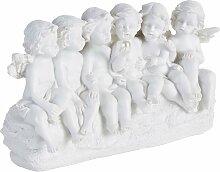 pajoma Engelfigur Engel B/H/T: 18 cm x 11 6 weiß