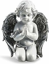 Pajoma Engelfigur Silver betend, klein