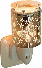 Pajoma Nachtlicht Duftlampe Butterfly, elektrisch