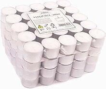 Pajoma Teelichte unbeduftet 100 Stück,