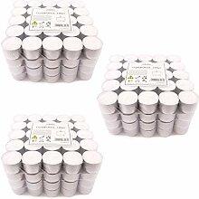 Pajoma Teelichter Weiss unbeduftet 300 Stück,