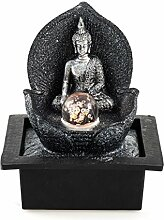 Pajoma Zimmerbrunnen Silver Buddha