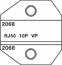 Paladin Werkzeuge pa20681300/8000Serie austauschbar RJ50sterben