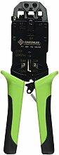 Paladin Werkzeuge pa901016All-in-One Crimpzange für RJ11/12/22/45Modularstecker