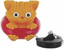 Paladone Badewannenstöpsel Katze aus Kunststoff