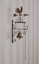 PALAZZO INT Gartenfigur Engel Metallengel Shabby