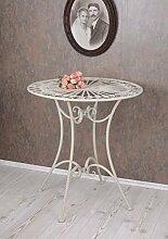 PALAZZO INT Gartentisch Weiss Tisch Shabby Chic