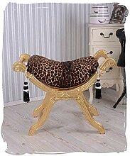 PALAZZO INT Sitzhocker Leopard venezianischer