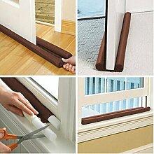 Paleo 85CM Twin Windschutz Tür-Fenster-Luft-Staub-Stopper Energiespar