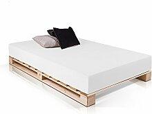PALETTI Palettenbett Massivholzbett Holzbett Bett
