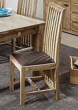 Palisander massiv Holz Möbel geölt Stuhl