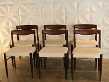 Palisander Stühle von H.W. Klein für Bramin,