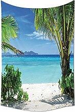 Palm Tree Tapisserie tropischen Pflanzen Seaside