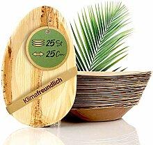 palmenwald© 25 Stück Servierplatte ca. 25x15cm