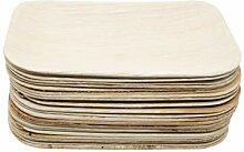 PALMIRR Bio Palmenblatt - Arekapalme - 25 Stück