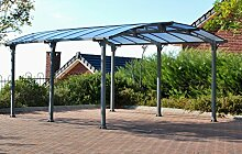 Palram Arcadia 5000 Carport, robuste Struktur für
