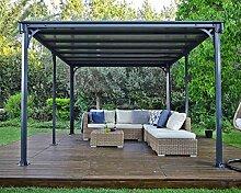 Palram Milano 4300 Gartenpavillon: Höchst