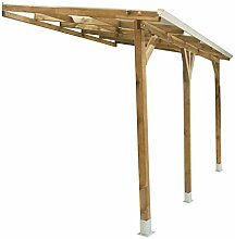 Palram Terrassendach Holz, Terrassenüberdachung