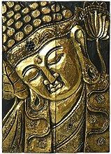 PAME 39076–Retabel aus Holz, Motiv Buddha,