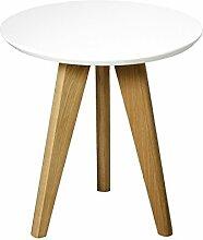 PAME 40768–Beistelltisch aus Holz, rund