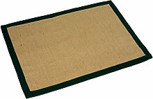 PAME 63900–Jute-Teppich mit Bordüre in