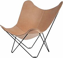 Pampa Mariposa Butterfly Chair Sessel, braun Crude