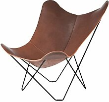 Pampa Mariposa Butterfly Chair Sessel, Dunkelbraun