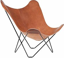 Pampa Mariposa Butterfly Chair Sessel, mittelbraun