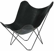 Pampa Mariposa Butterfly Chair Sessel, schwarz