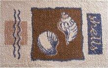Pana 118684301 Badteppich ca. 110 x 65 cm beige